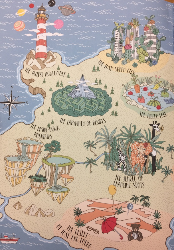 atlas of imaginary places illustration by Ana de Lima