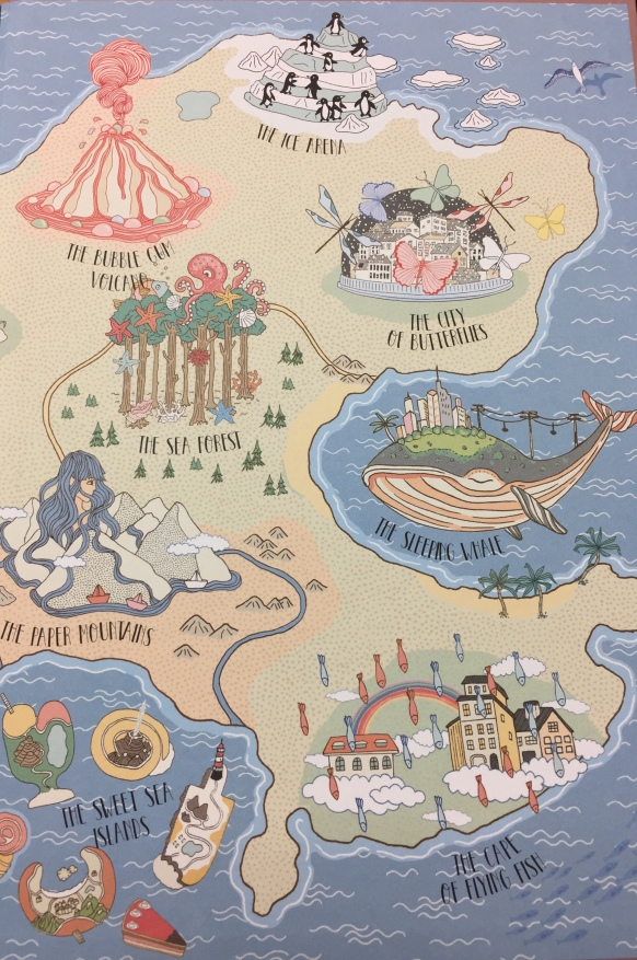 atlas of imaginary places illustration2 by Ana de Lima