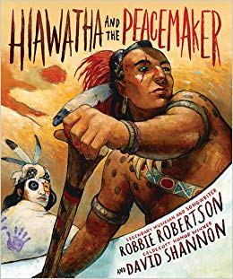 hiawatha and the peacemaker cover image