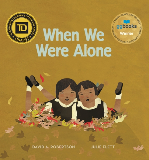 when we were alone cover image