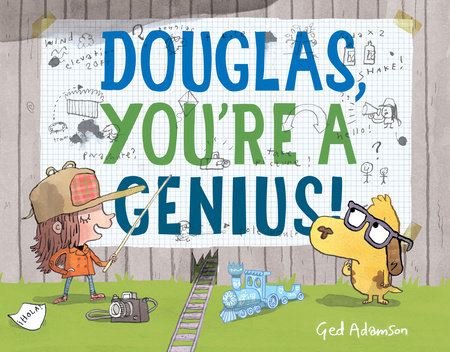 douglas you're a genius cover image