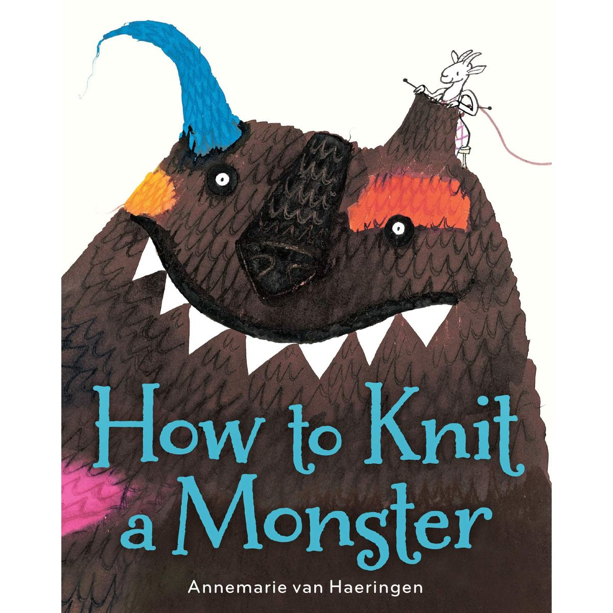 how to knit a monster cover image