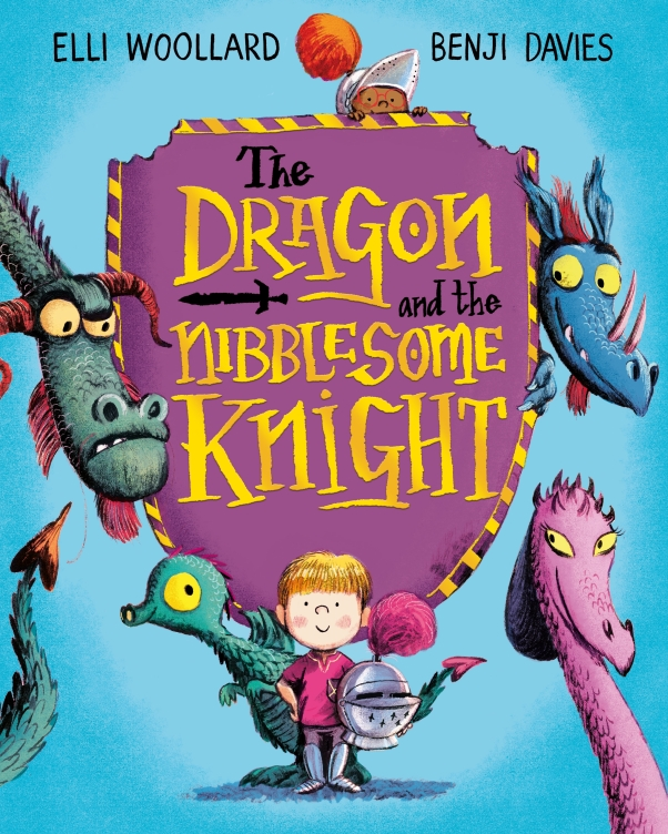 the dragon and the nibblesome knight cover image