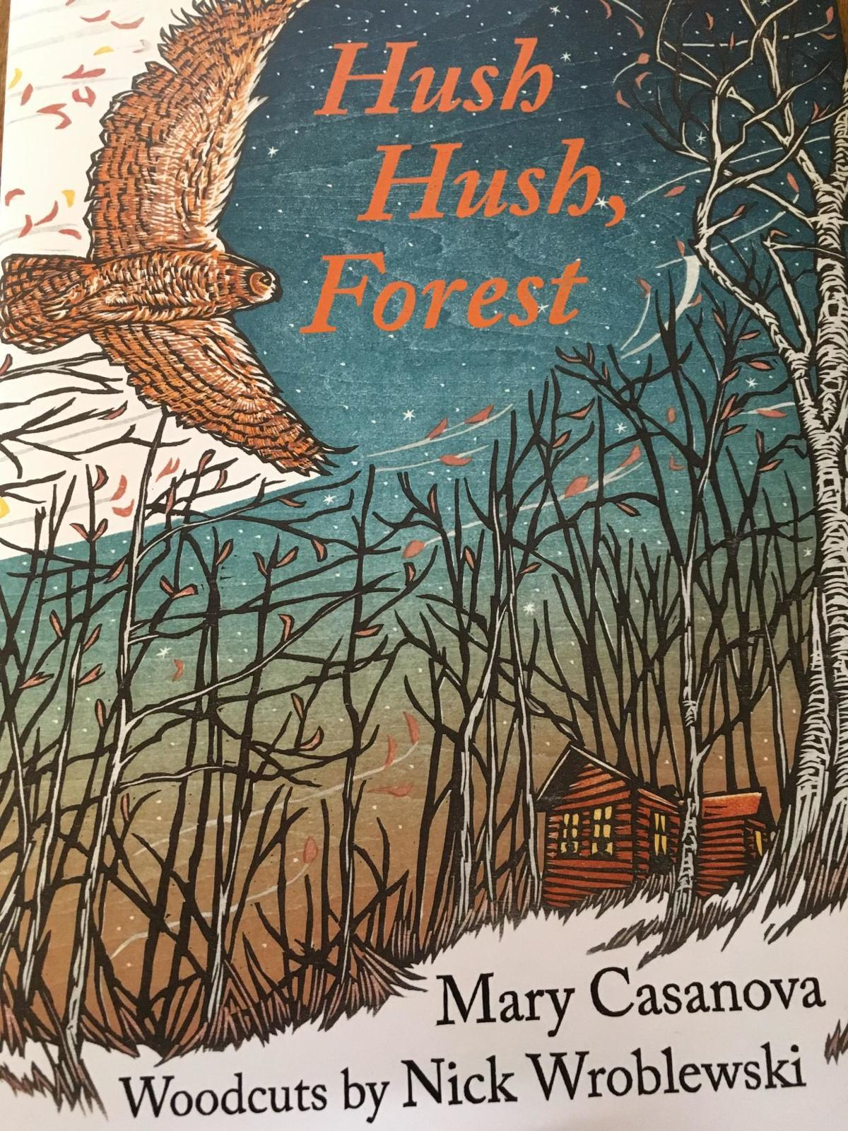 hush hush forest cover image