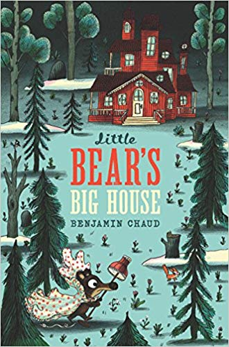 little bear's big house cover image