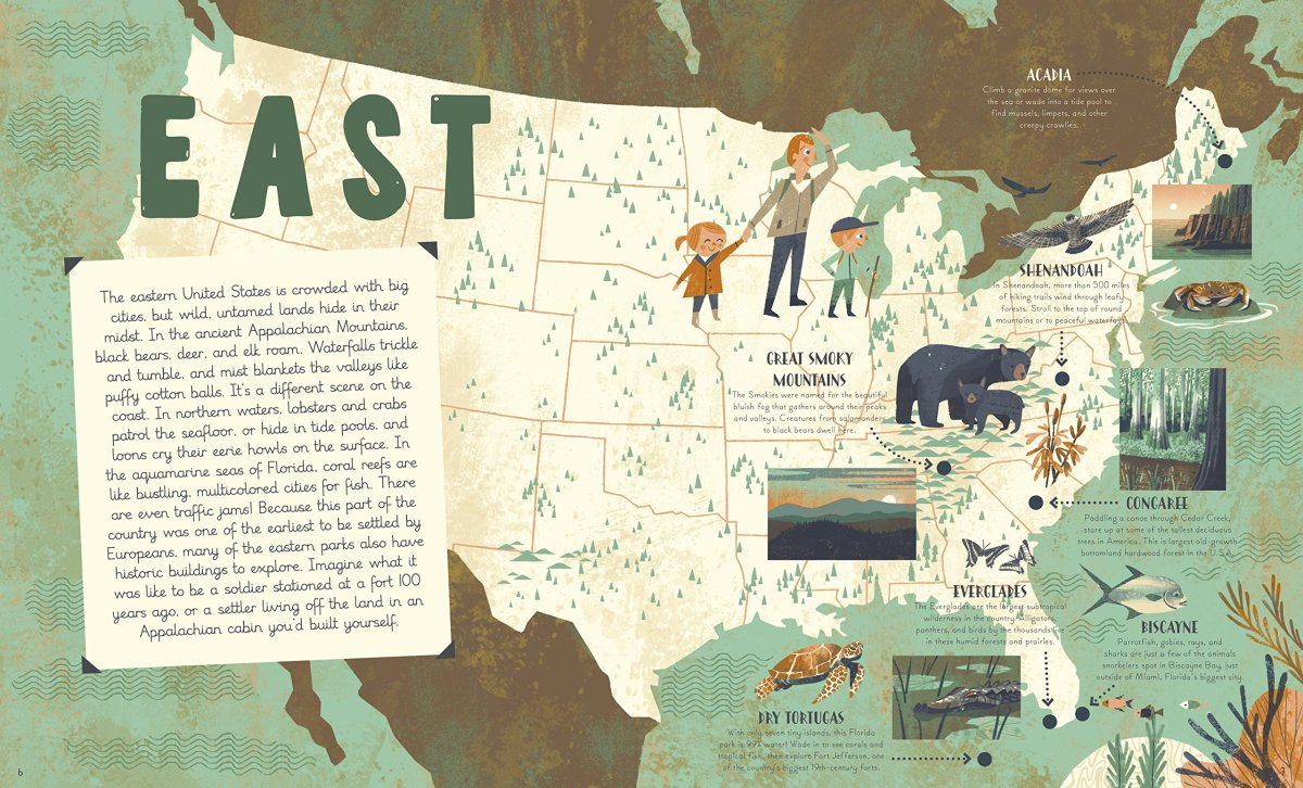 national parks interior by Siber and Turnham