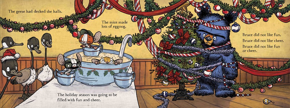 santa bruce interior by Ryan Higgins