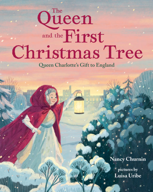 the queen and the first christmas tree cover image