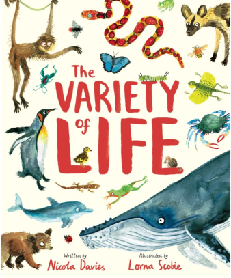 the variety of life cover image