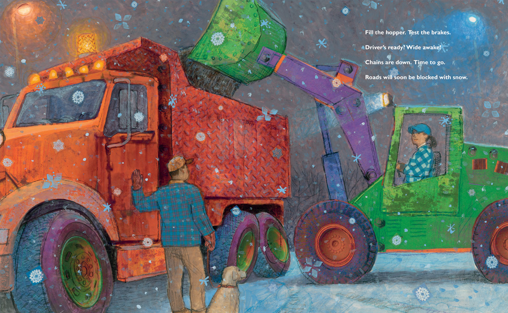 good morning snowplow interior2 by Bruss, Fancher, and Johnson