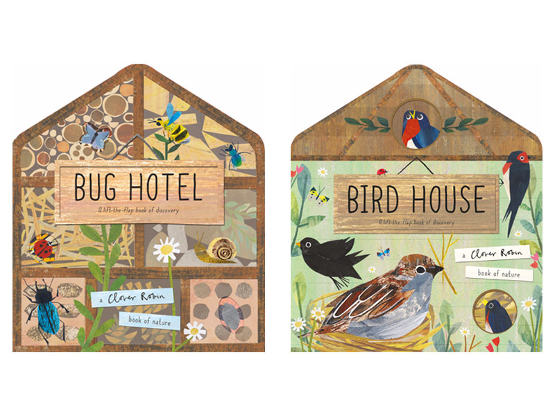 birdhouse bug hotel cover images