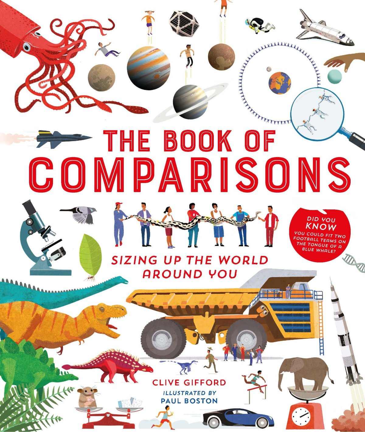 book of comparisons cover image