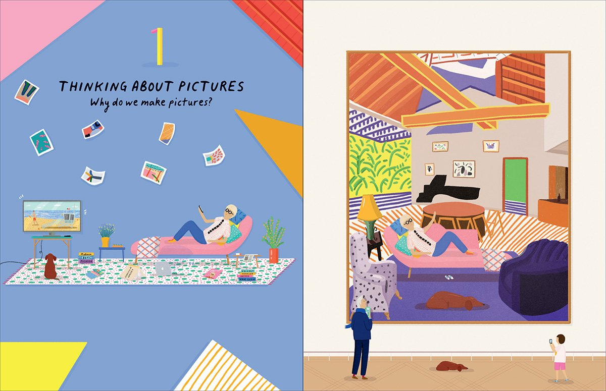 history of pictures hockney gayford and blake
