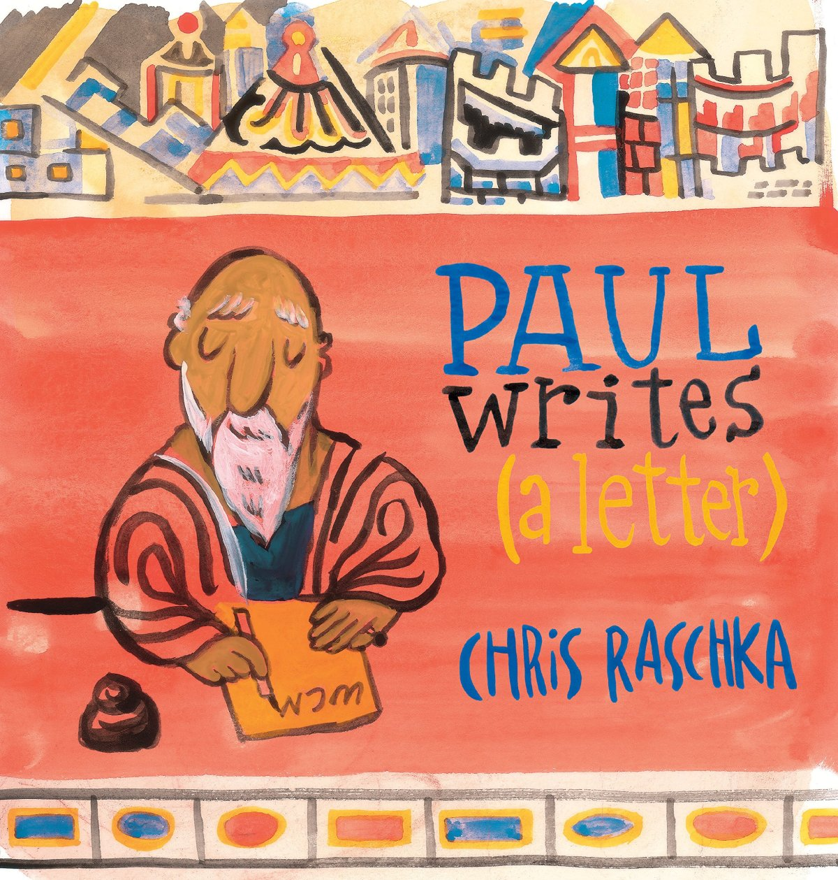 paul writes a letter cover