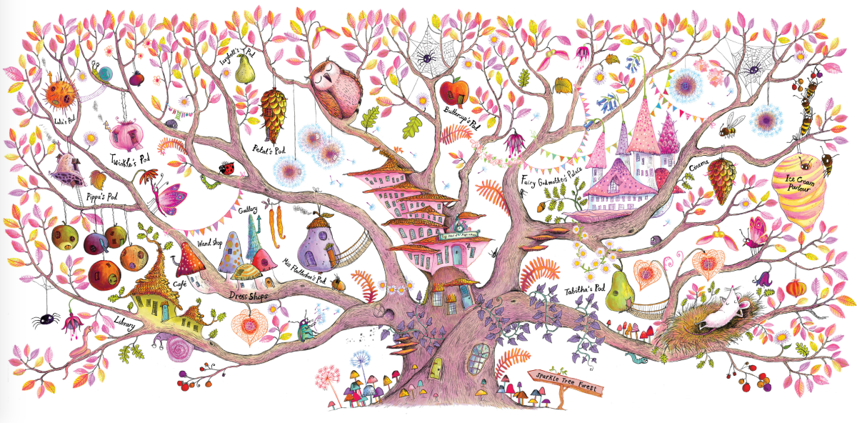 twinkle illustration by sarah warburton