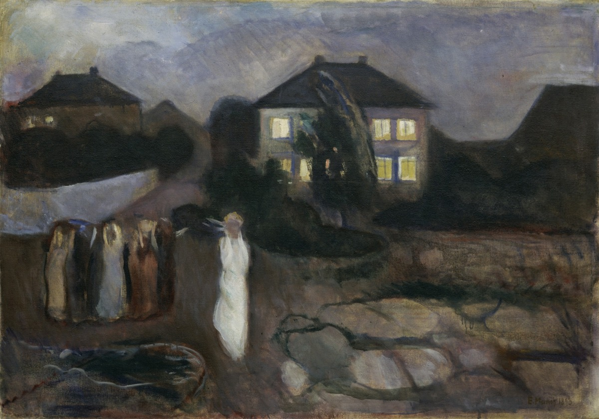 the storm edvard munch
