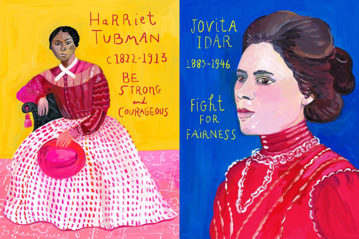 bold and brave illustration Maria Kalman