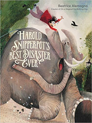 harold snipperpot's best disaster ever cover