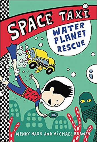 space taxi water planet rescue
