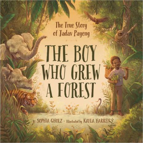the boy who grew a forest cover