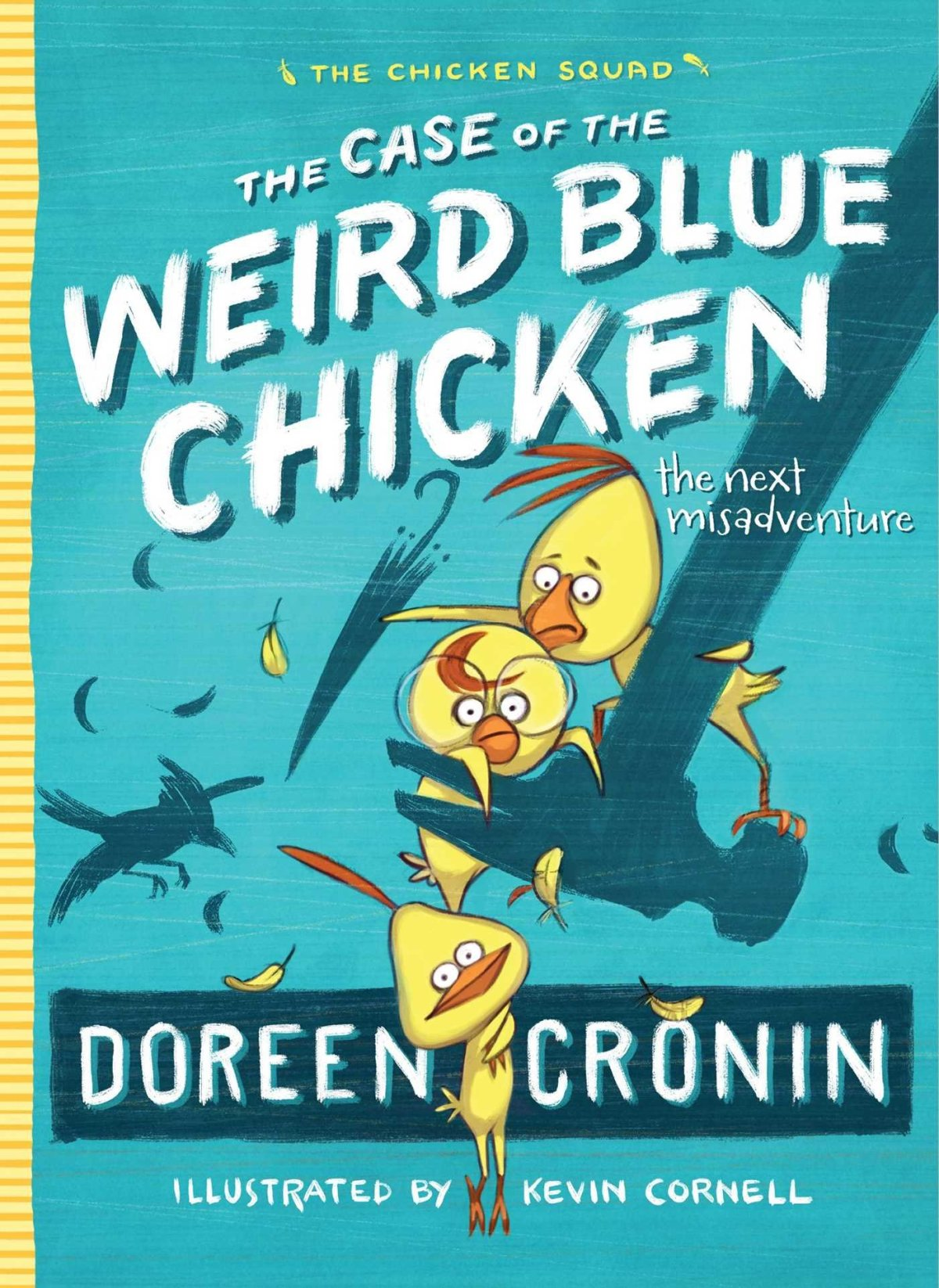 weird blue chicken cover image
