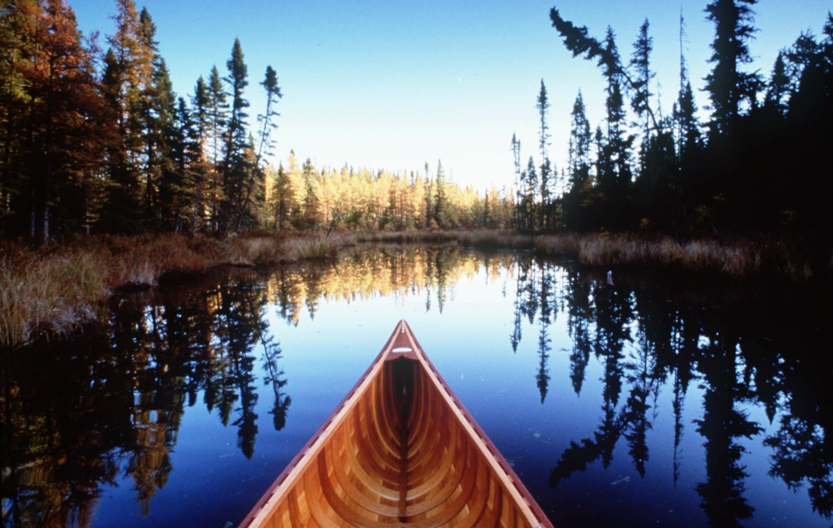 BOUNDARY WATERS CANOE OT LIBO
