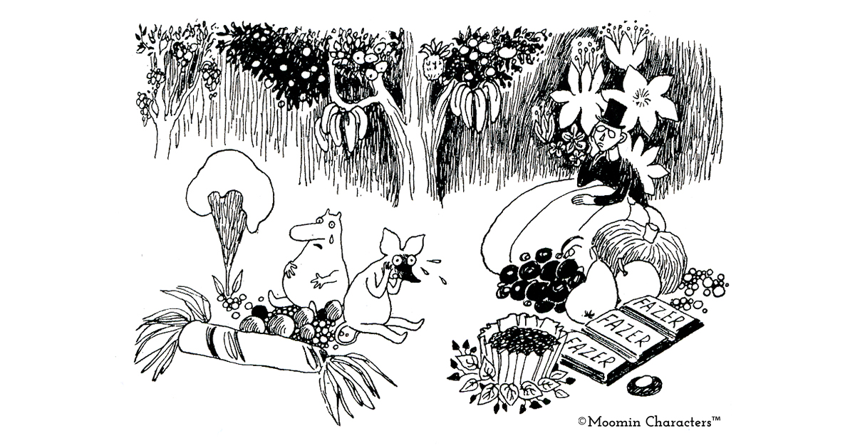 the moomins and the great flood2 Jansson
