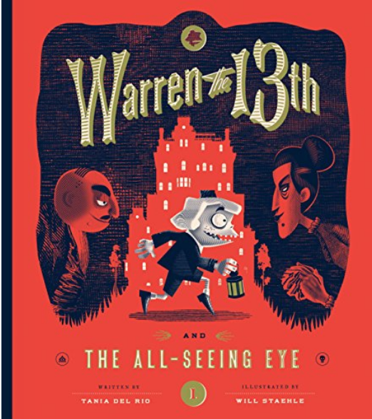 warren the 13th cover