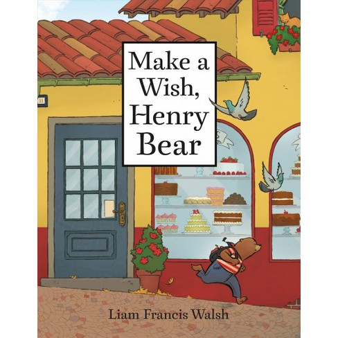 make a wish henry bear cover