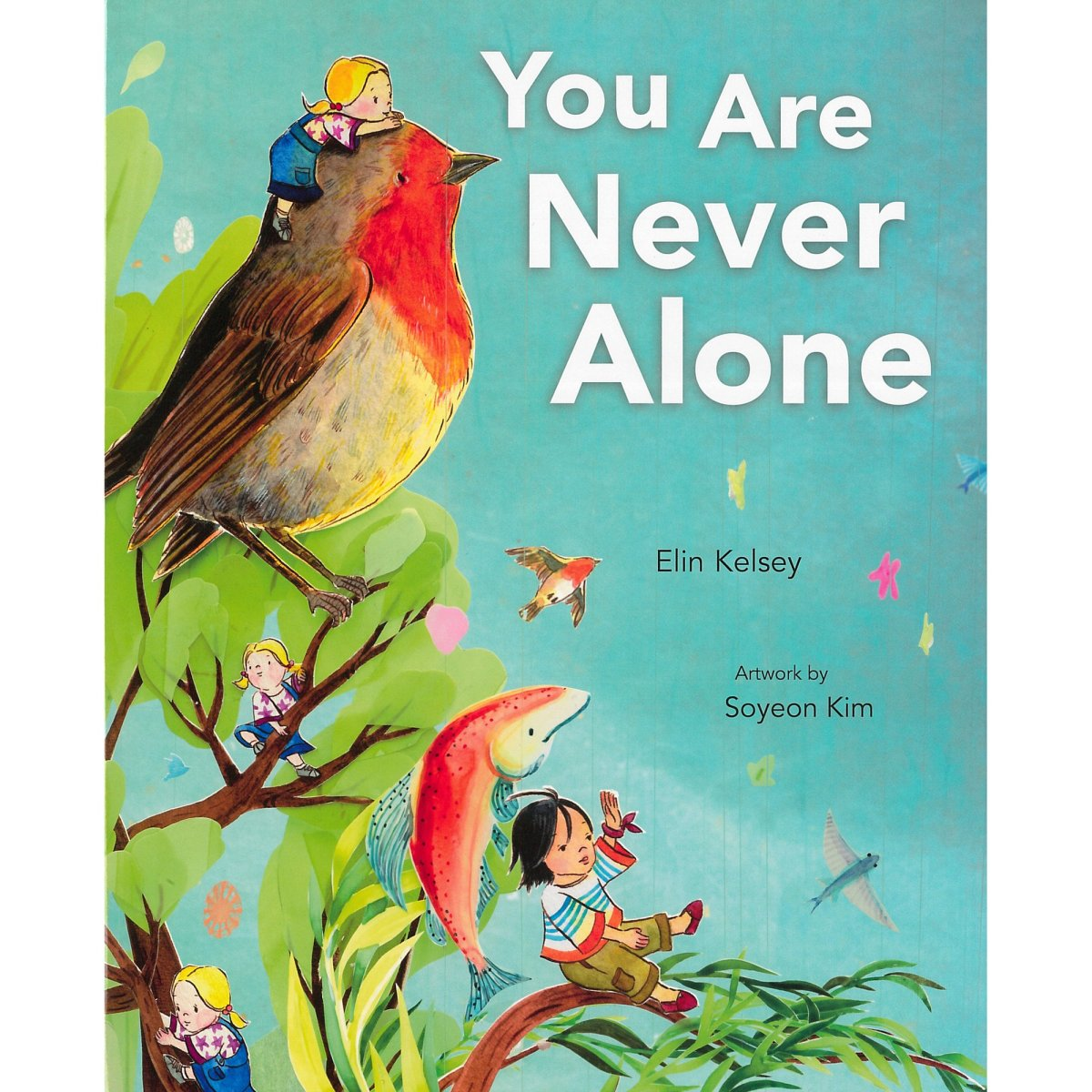 you are never alone cover