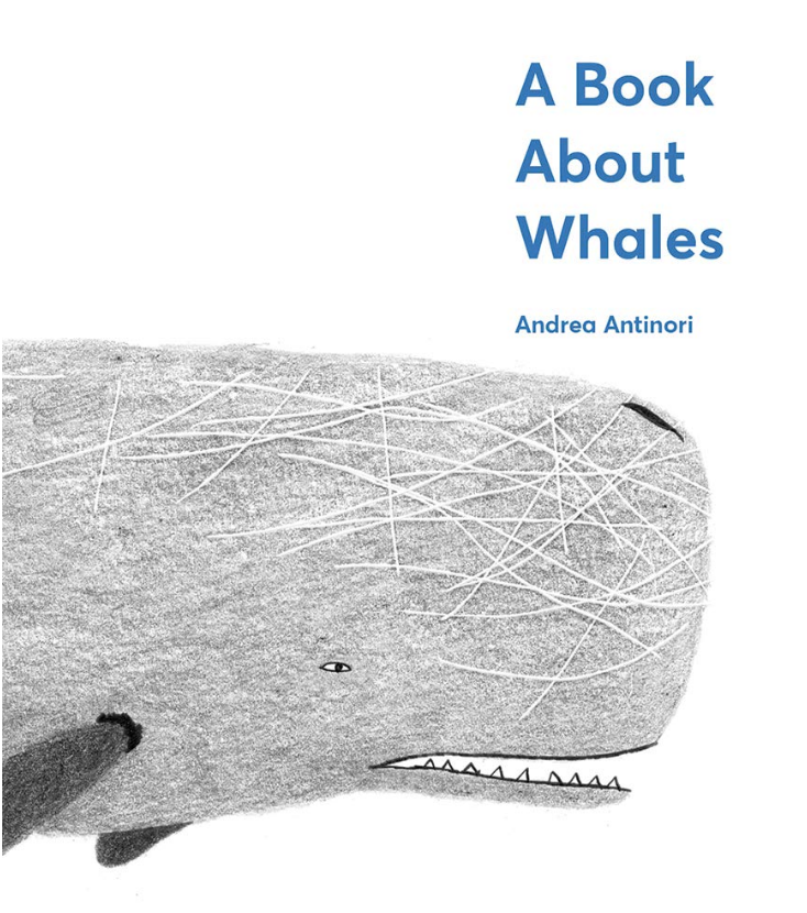 a book about whales cover