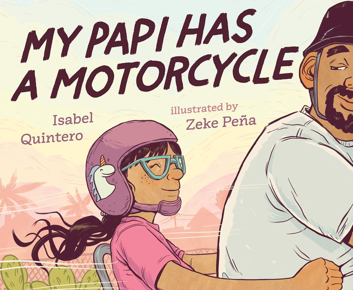 my papi has a motorcycle cover
