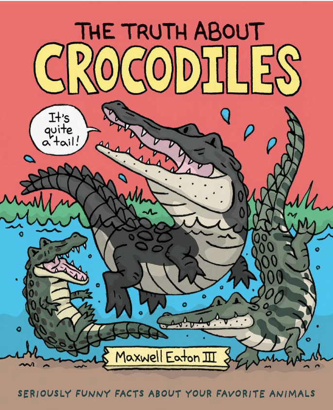 the truth about crocodiles cover