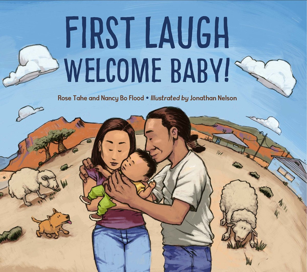first laugh welcome baby cover