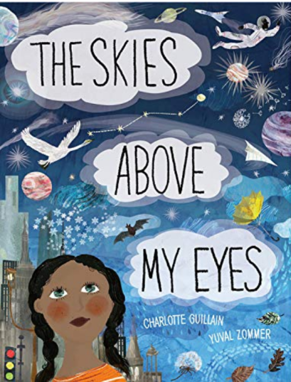 the skies above my eyes cover