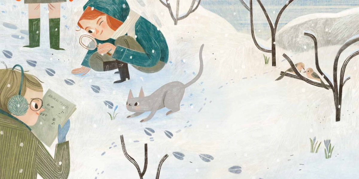 a year with mama earth illustration Rebecca Green