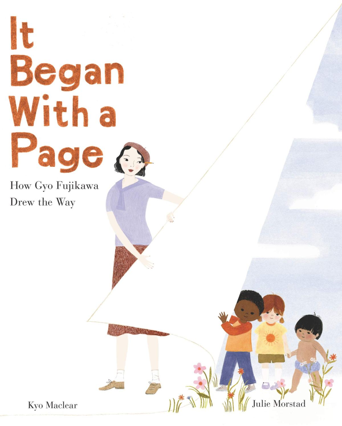 it began with a page cover
