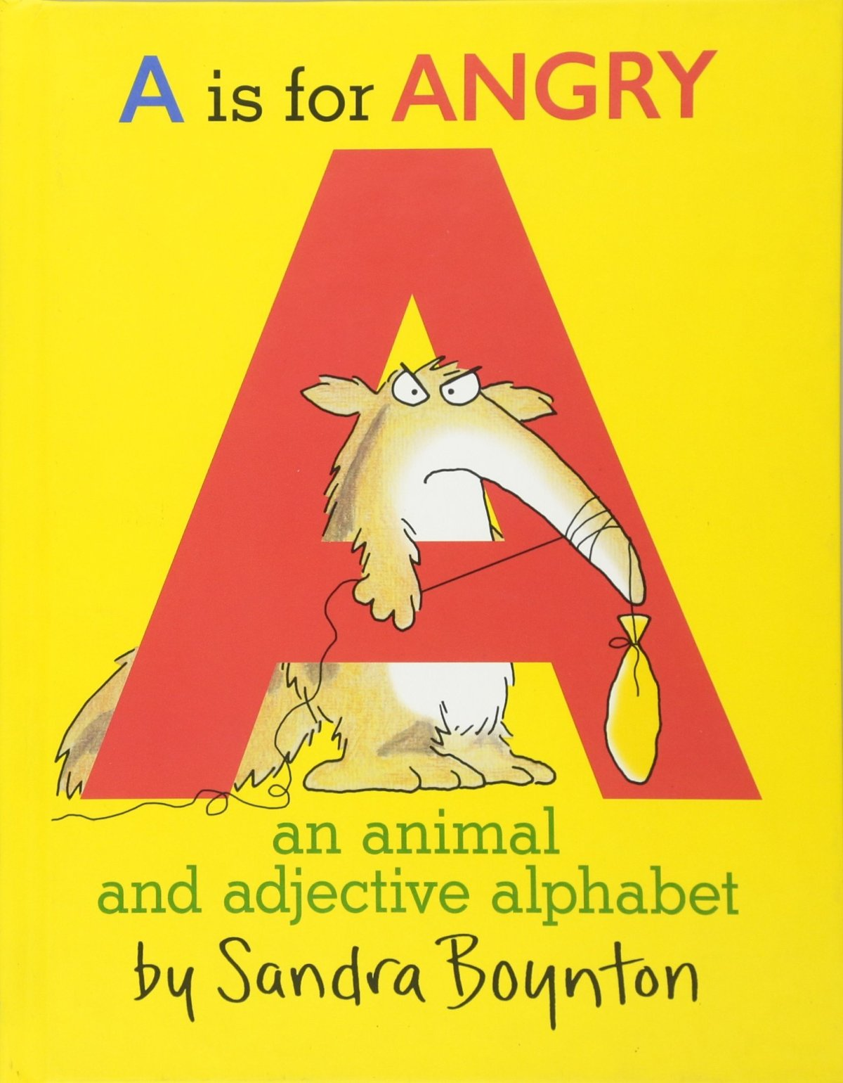 a is for angry cover
