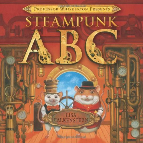 steampunk ABC cover