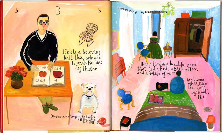 what pete ate from a-z Maira Kalman