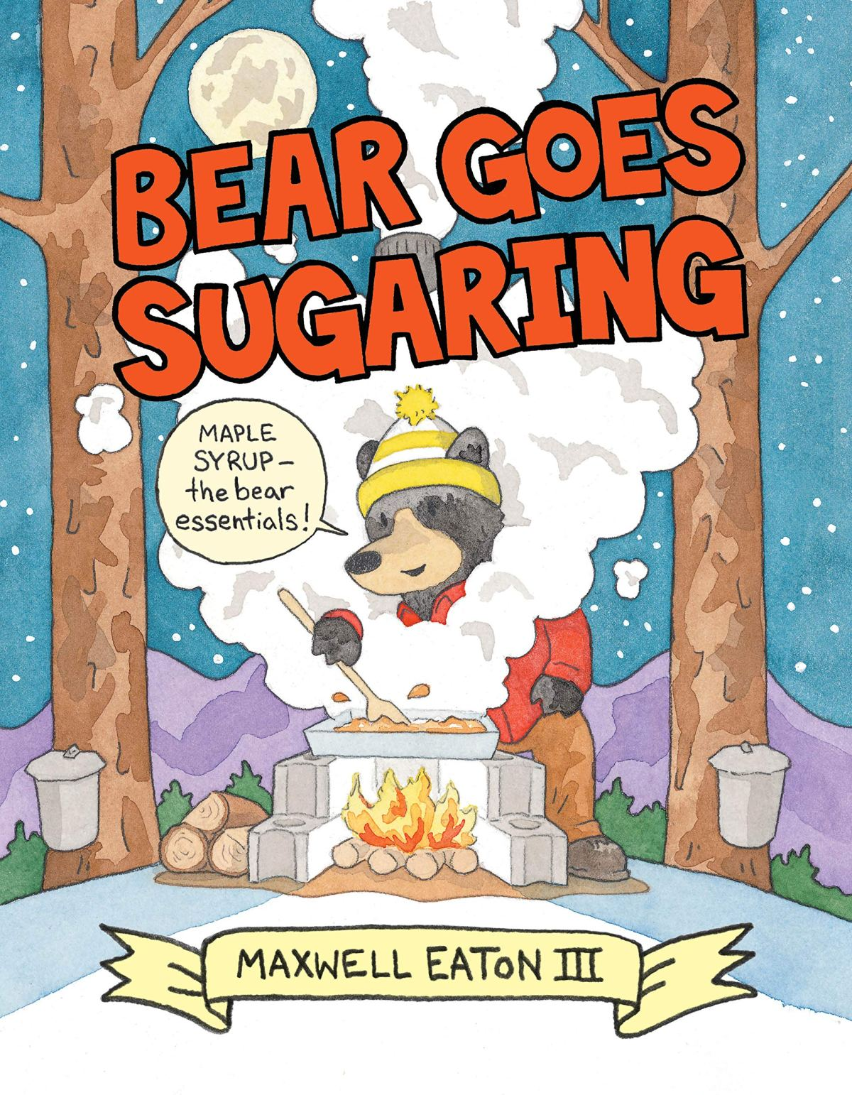 bear goes sugaring cover