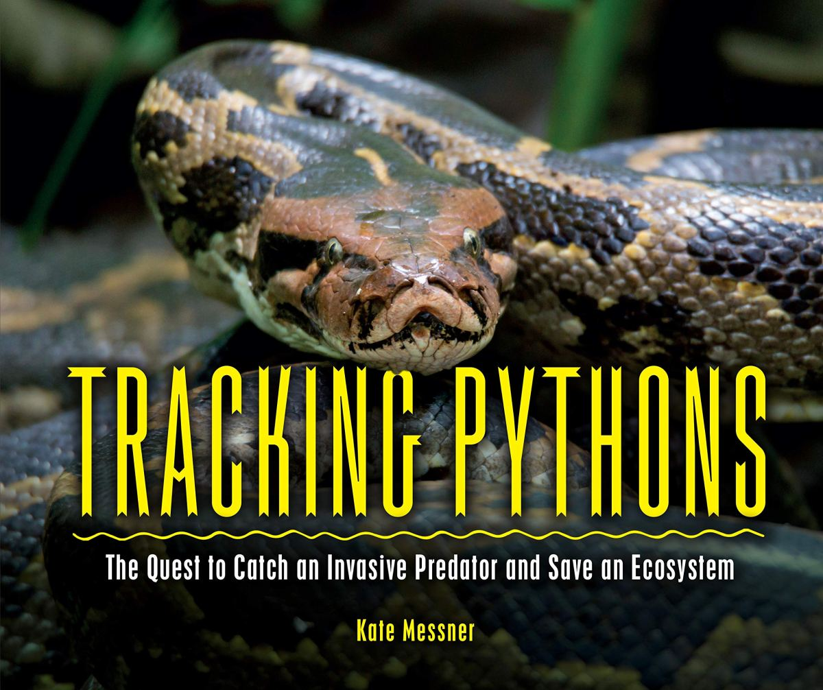 tracking pythons